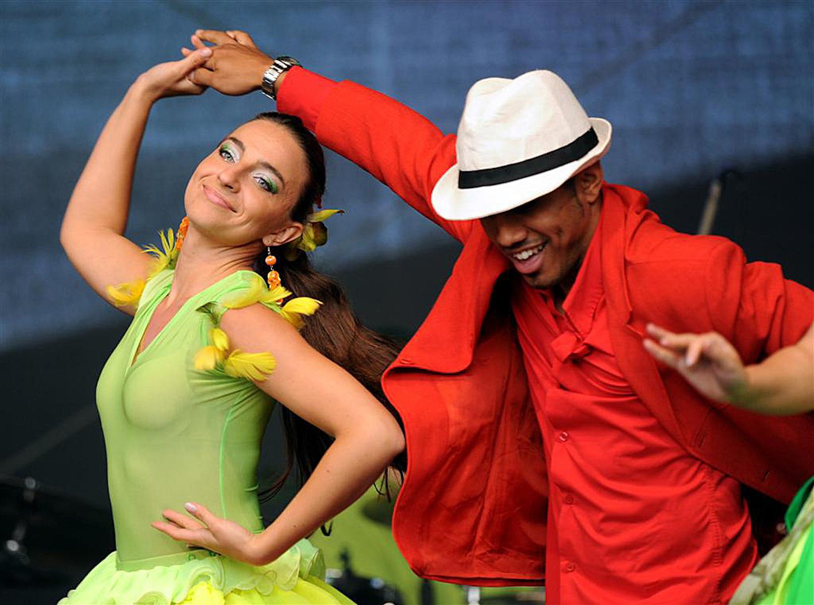 Koncert Jose Torres Y Salsa Tropical podczas Festiwalu Solidarności w Gdańsku.